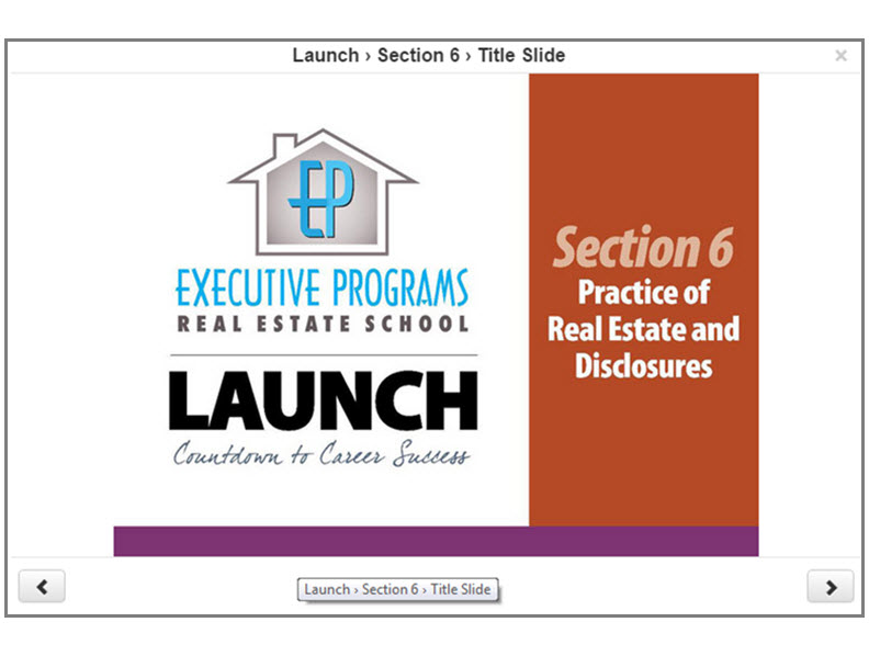 Real Estate Broker License Test Preparation